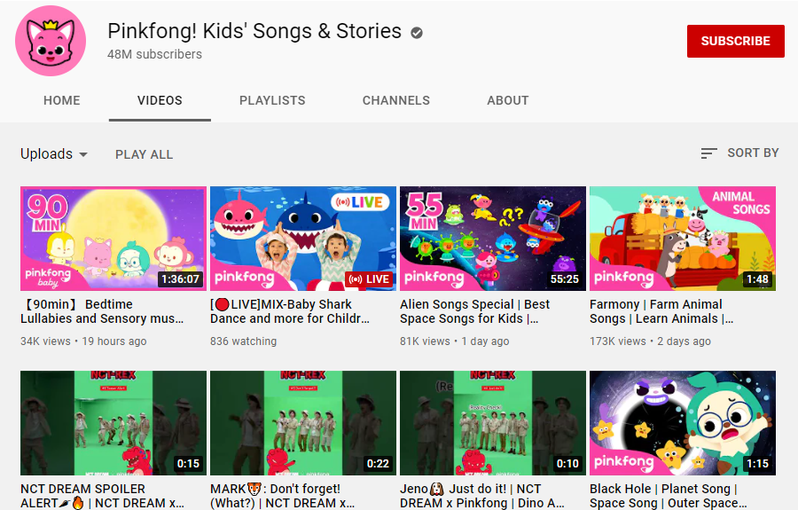 Pinkfong! Kids_ Songs _ Stories