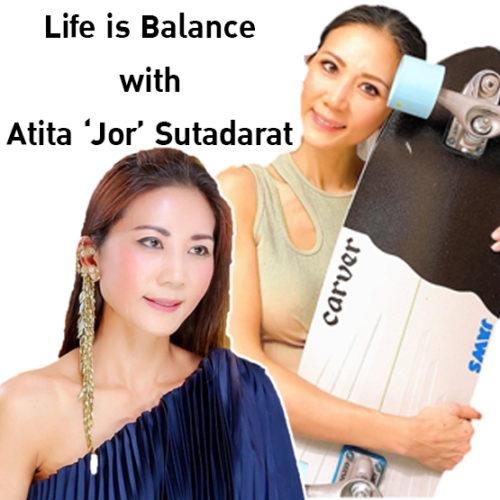 Life is Balance: ดูแลรูปร่างสวยเซี๊ยะ แบบฉบับของ 'จ้อ-อทิตา สุธาดารัตน์'